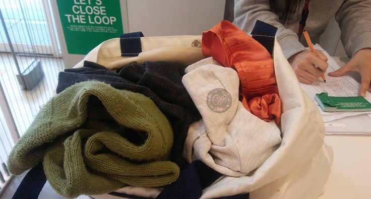 Support H&M's Close the Loop (Recycle your Clothes)