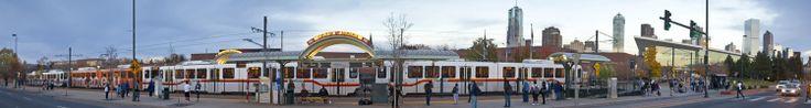 Denver, CO light rail trips