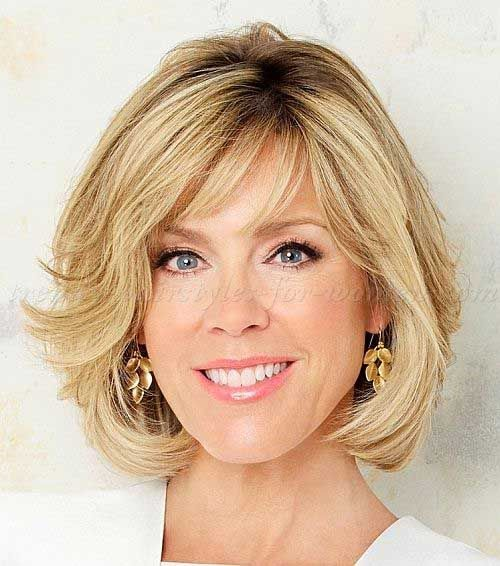 Chic Bobs for Women Over 50 | Bob Hairstyles 2015 - Short Hairstyles for Women