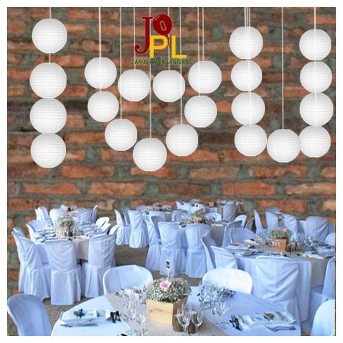 1000 Ideas About White Paper Lanterns On Pinterest