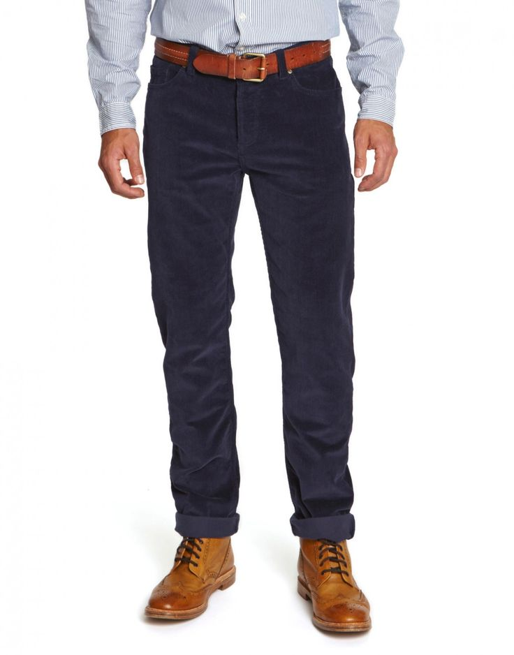 Joules Mens Cord Trousers in Classic Colours - Anna Davies