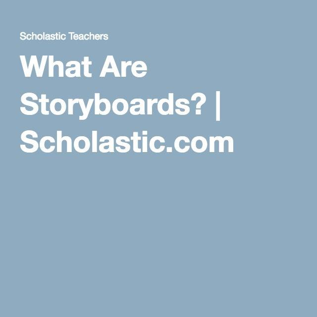 Storyboards Instructional Strategy