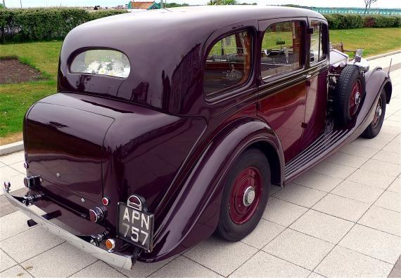 1938 Phantom III Windovers Limousine