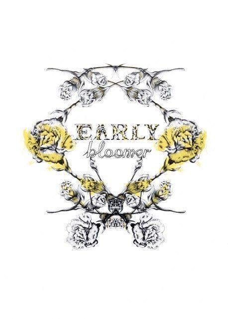 'Early bloomer' by Ewelina Dymek