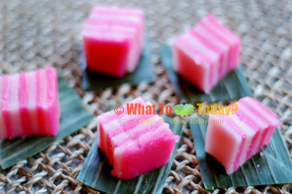 INDONESIAN STEAMED LAYERED CAKE