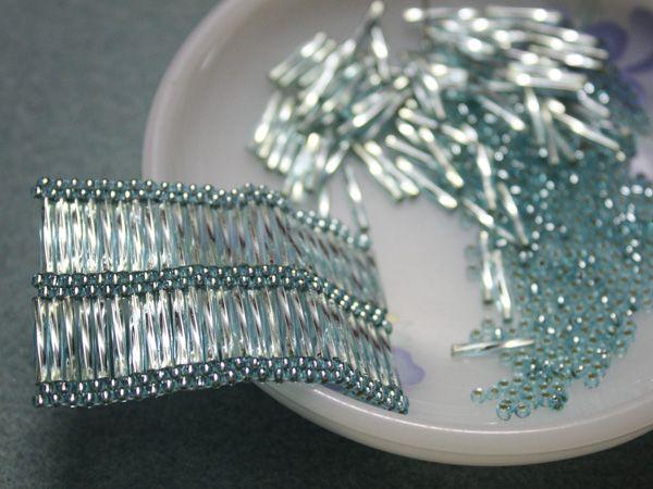 Just a peyote bracelet using bugle beads