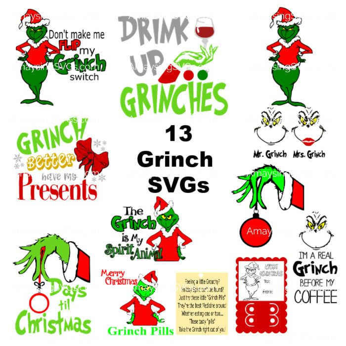 Download Image result for grinch svg | Cricut christmas ideas ...