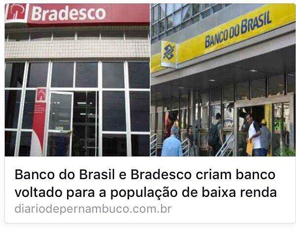 """Esse banco deve começar em 2016 com um """"caixa"""" de 1 Bilhão para empréstimos e cartões de crédito.    #zeempreendedor #bradesco #bancodobrasil #banco #bank #startup by zeempreendedor"""