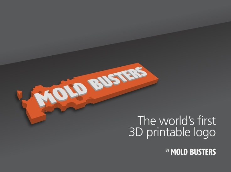Mold Busters - 3D Printable Logo by bustmold.