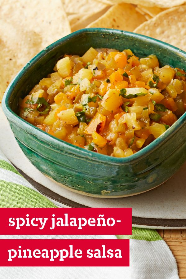 Spicy Jalapeño-Pineapple Salsa – Dig your tortilla chips into this ...