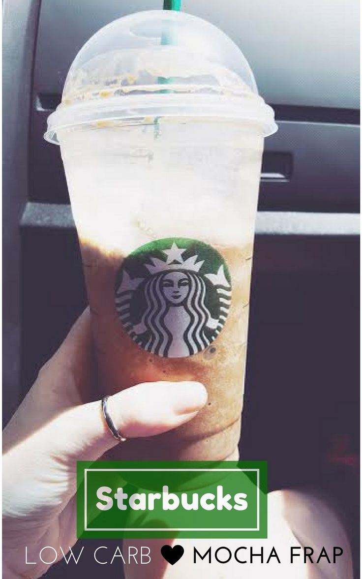 How to order a low carb mocha frap at Starbucks so your summer can stay sweet while you stay fit.