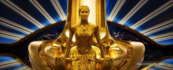 Elizabeth Debicki As The High Priestess Of The Sovereign Race In Guardians Of The Galaxy Vol 2 Guardians Of The Galaxy Guardians Of The Galaxy Vol 2 Guardian
