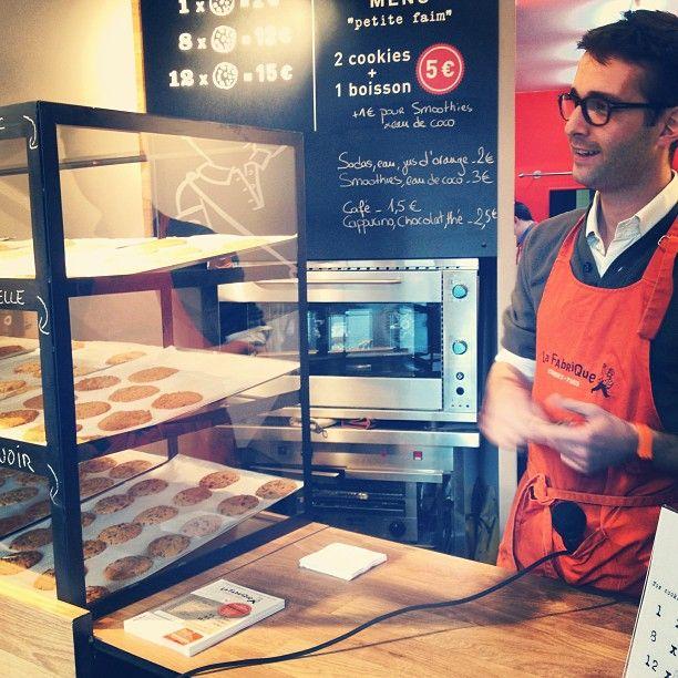 Alexis, fondateur de La Fabrique - Cookies !