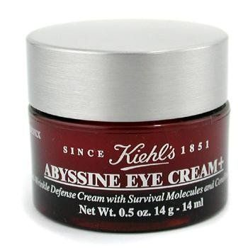 Kiehl's by Kiehl's eye care; Abyssine Eye Cream +--15ml/0.5oz; 07873028601 by Kiehl's. $54.02. A powerful, anti-aging eye cream to defy aging signs in delicate eye zone Formulated with naturally-derived ingredient Abyssine Soothes & protects skin from external aggressions Reduces appearance of fine lines & wrinkles Defends skin from free radical damage with antioxidants Instantly moisturizes & refreshes skin - Kiehl's - Eye Care
