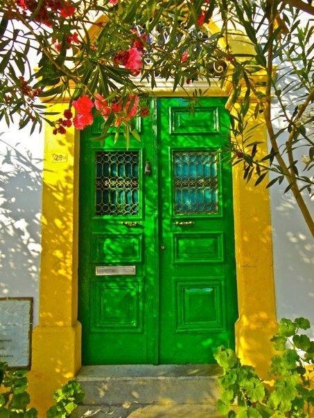 Nicosia, Cyprus door
