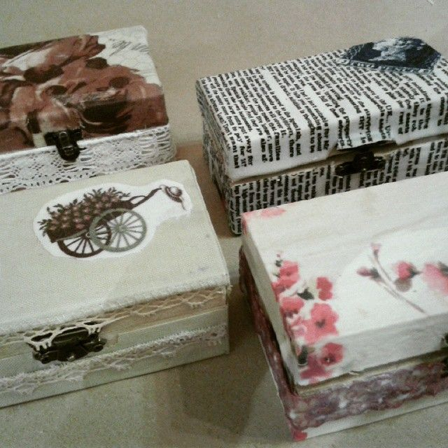 #fabric #decoupage #technique on #wooden #box! #workshops #2015 #techniques #craft #diy #adults #decorations #Art2Art #skg #thessaloniki #photooftheday #instacrafts #instaart #instaphoto #art #art_for_adults #craft_for_adults #vintage #newspaper_fabric #lace #flower_fabric #handmade #crafty #crafting #home_decoration