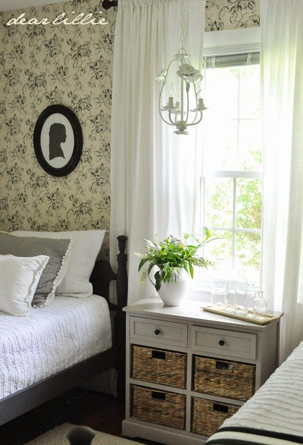 Dear Lillie: Some Finishing touches to Lillie and Lola's Old Fashioned New England Bedroom