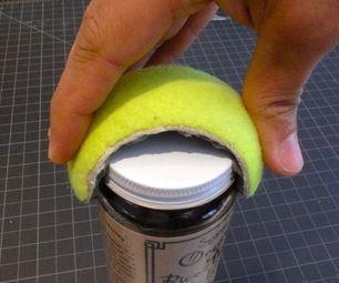 DIY Tennis Ball Jar Opener
