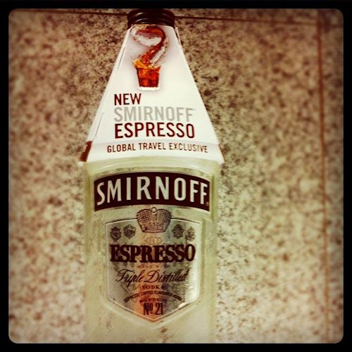 Try all 4 recipes for Smirnoff Espresso Vodka. Great for developers and hackers who want caffeine and alcohol mixed together. Tastes great.