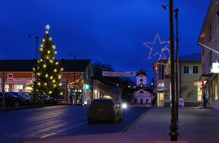 Christmas town Kristiinankaupunki.  Ostrobothnia province of Western Finland. - Pohjanmaa. - (Photo: Kajsa Snickars)