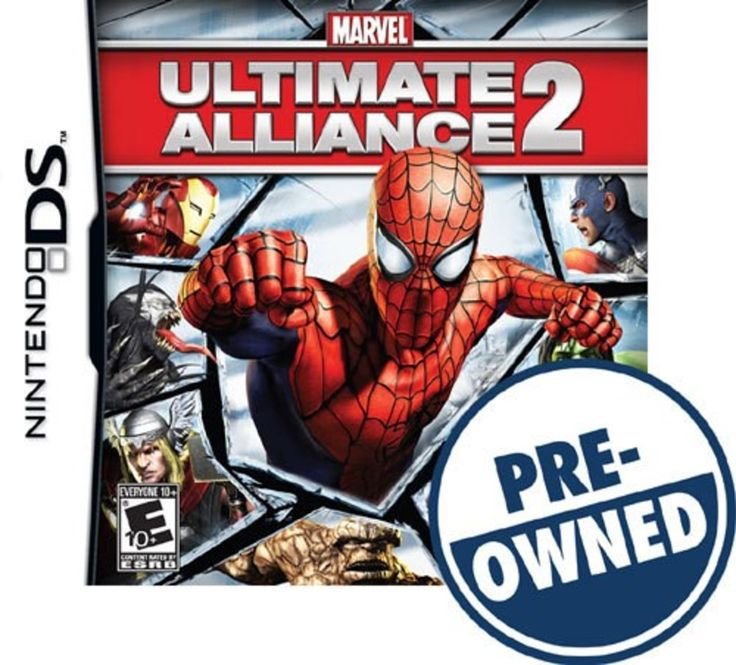 Marvel: Ultimate Alliance 2 — PRE-Owned - Nintendo DS