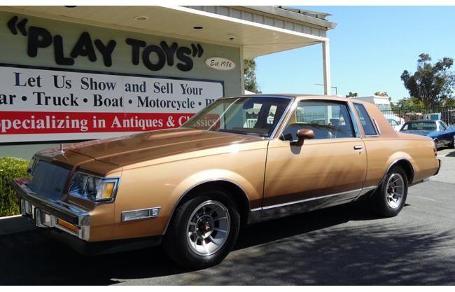 1987 Buick Regal Coupe Original for sale | HotrodHotline.com