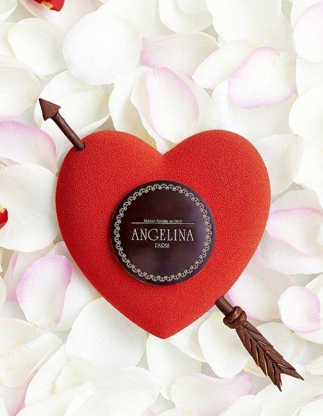 Le cœur passion d'Angelina