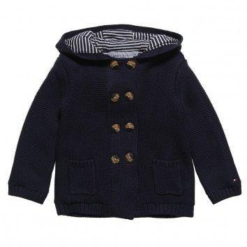 Tommy Hilfiger Baby Boys Knitted Pram-Jacket
