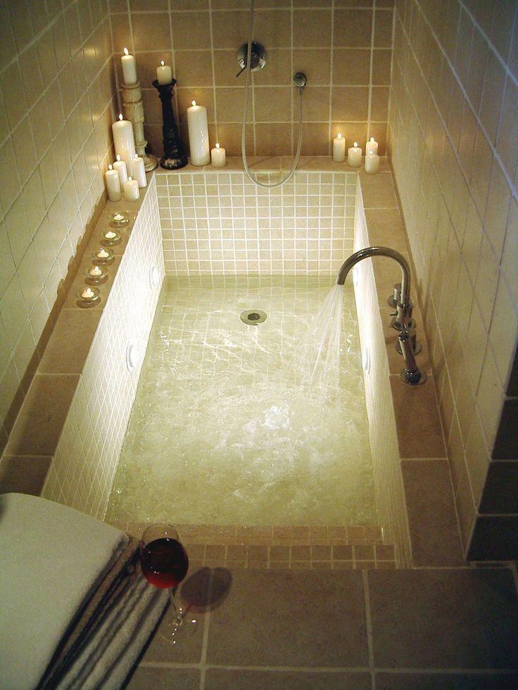 Dorable Master Bathroom Bathtub Ideas Love The Idea Of Steps Bathroom Bathtub Dor Luxury Bathroom Master Baths Dream Bathroom Master Baths Large Bathtubs