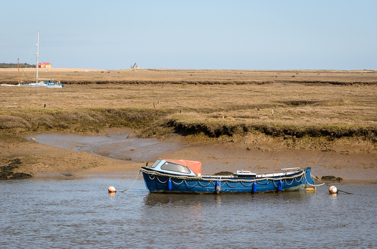 Day Four. Morston to Wells-next-the-Sea. Wells Harbour.