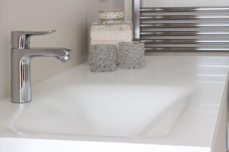 encoba encimera y lavabo realizados en betacryl bao lavabo encimerabao betacryl bathroom pinterest