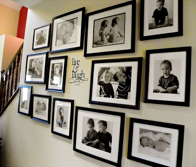 Gallery Wall.: Kid Pics, Galleries, Decor Ideas, Photos Gallery, House Ideas, Gallery Ideas, Gallery Walls, Gallery Wall Want, Accessorizing Frame Walls