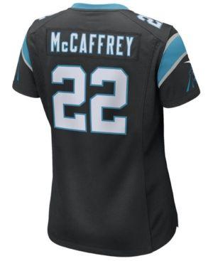 Nike Women's Christian McCaffrey Carolina Panthers Game Jersey - Black XXL