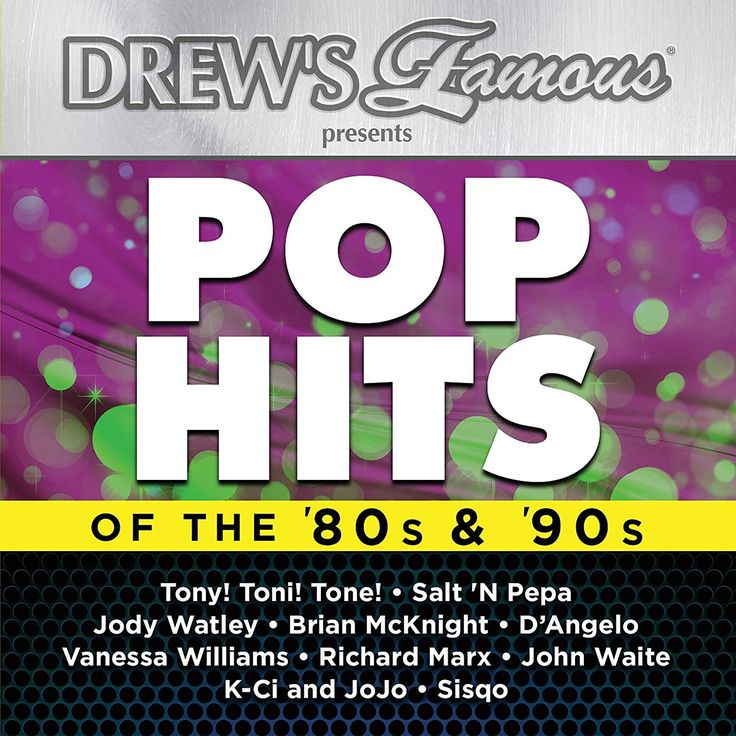 DREW'S FAMOUS POP HITS OF THE 80S & 90S CD 2017