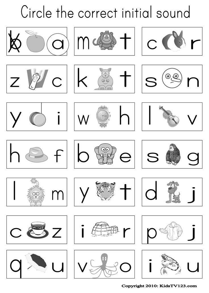 Printables Phonics Worksheets For Preschool 1000 ideas about phonics worksheets on pinterest free kidstv123 com worksheets