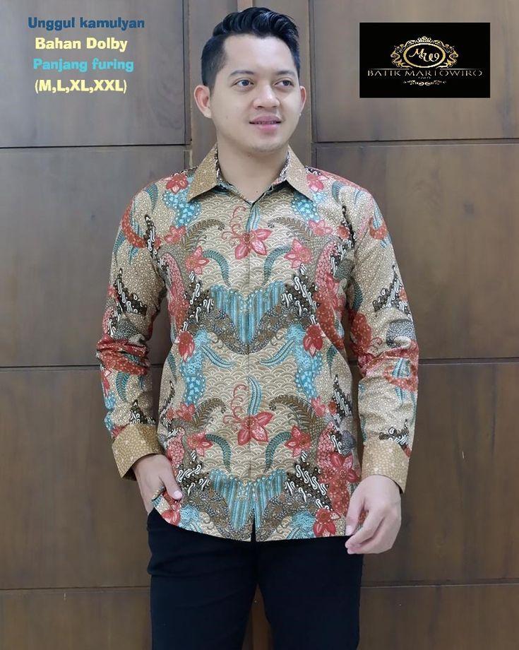 Kemeja Batik Solo Tangerang Selatan Full Furing