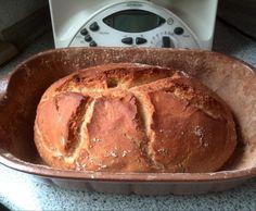 Rezept Dinkelbauernbrot aus dem Römertopf von luluranudu - Rezept der Kategorie Brot & Brötchen