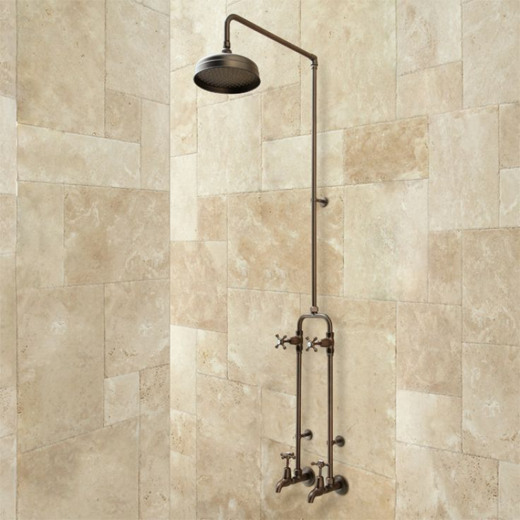 38 best exposed copper pipe for mud room wet room images for Copper pipe shower