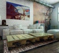 ▷ Europalette Möbel sind Hit im modernen Interior