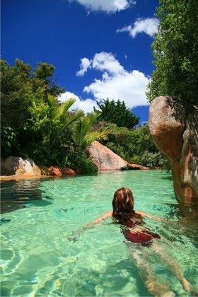 The Lost Spring Thermal Pools - Whitianga, New Zealand.