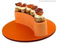 Peach & Apricot Mousse Cake - Meilleur du Chef