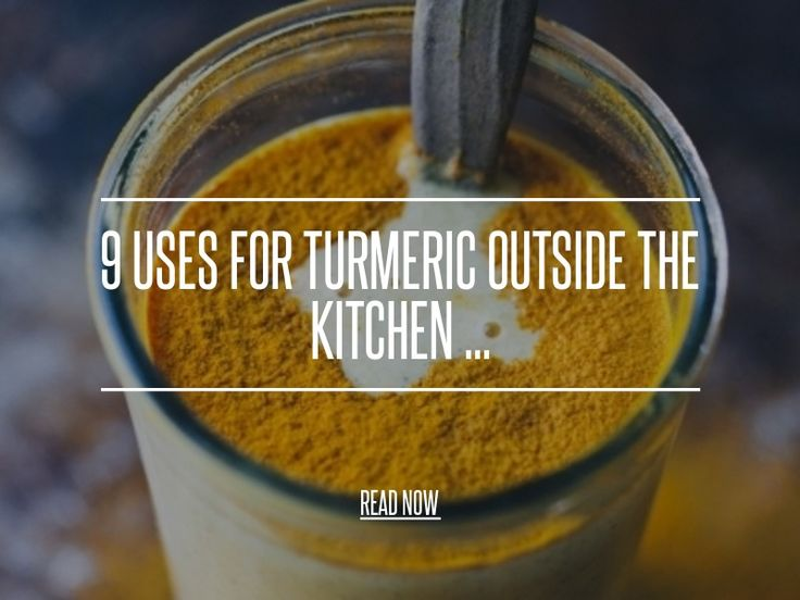 9 Uses for Turmeric outside the Kitchen ... - Diy [ more at http://diy.allwomenstalk.com ] It's gloriously yellow, it smells great and it has many health benefits, but there are also uses for turmeric outside of eating it. When you next go to the supermarket, I urge you to grab a big bag full and not just a little pot to languish on the shelf, only to come out when you decide to make a curry. There are so many uses for turmeric, a big bag won'... #Diy #Indian #Stains #Play #Yellow…