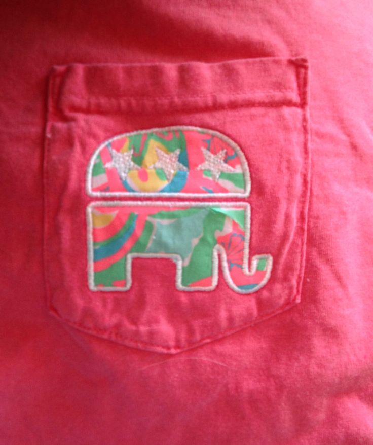 Lilly Pulitzer Fabric Republican Shirt (Short Sleeve, Long Sleeve or Tank) by ThePinkPineappleShop on Etsy https://www.etsy.com/listing/211099450/lilly-pulitzer-fabric-republican-shirt