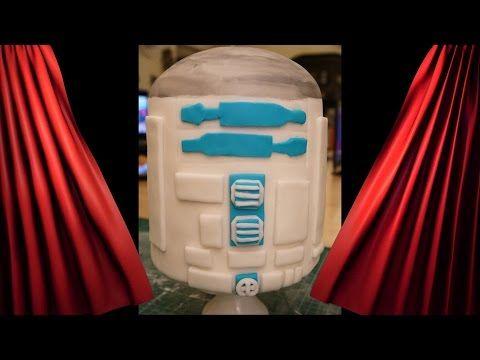 star wars motivtorte r2d2 1 teil kuchen torte backen dekorieren mit fondant youtube. Black Bedroom Furniture Sets. Home Design Ideas