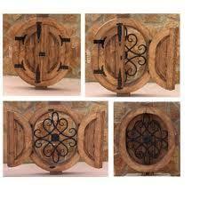 """Résultat de recherche d'images pour """"ventana de madera rusticas con hierro"""""""
