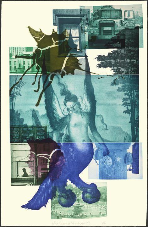 Bellini #1 by Robert Rauschenberg at Kenneth A. Friedman & Co ...