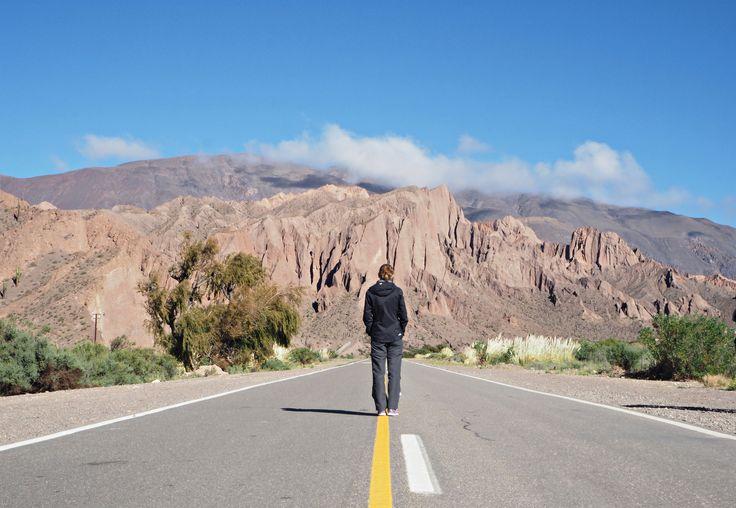 Mountain roadway, Salta