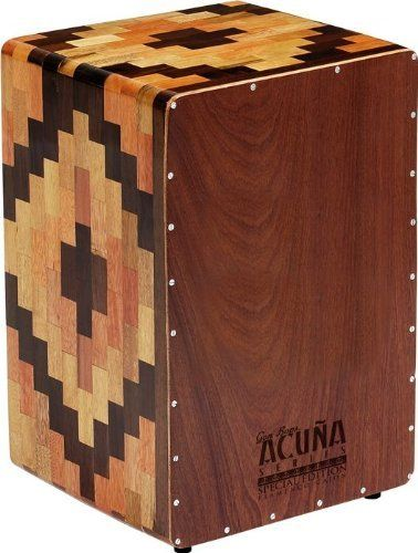 Gon Bops Alex Acuna Special Edition Cajon by Gon Bops. $239.00. Beautifully inlaid and designed, this Peruvian work of art is uniquely designed to reduce the sound of the snare wires when playing a bass tone. This allows the musician to get the optimal sonic characteristics of both a traditional Cajon and a Flamenco Cajon.