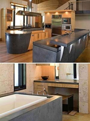 Eco Friendly Concrete Countertops And Bath! U003c3 By Sofia