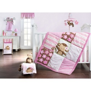 Kidsline Sweet Monkey Bedding Collection Baby Bedding  - Kidsline,kids,line,kidzline,kidsline,bedding,kidsline,baby,bedding, Crib Bedding Set, Crib Bedding Accessories, Baby Viva, Britax, Combi, Perego, Kidsline, Cottontale, Safety 1st, Bugaboo, First Years, Pali, Dorel, Joovy